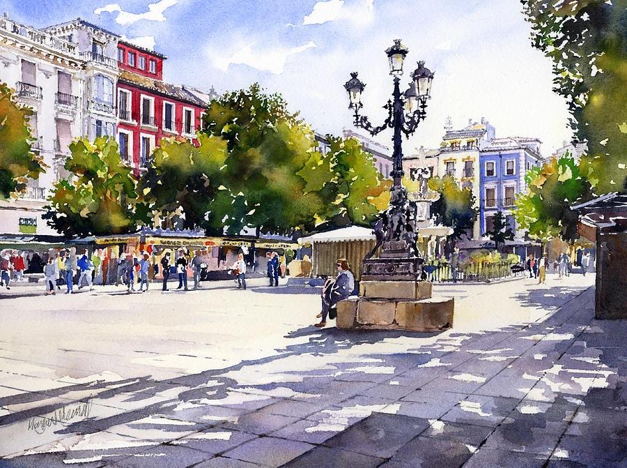 8-Площадь Биб-Рамбла, Гранада.jpg