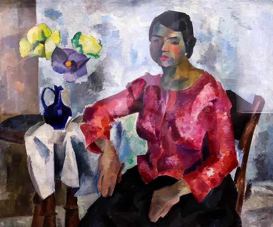 11-Женский портрет - 1917.jpg