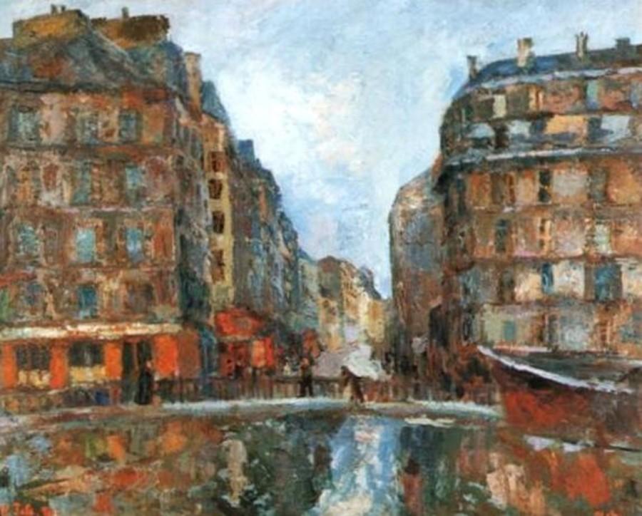 17-Париж - Канал Сен-Мартен - 1930.jpg
