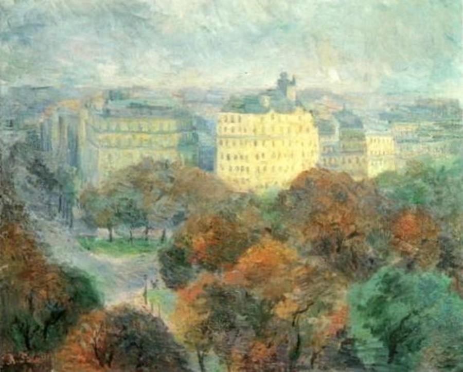 18-Париж - осенний пейзаж - 1933-1934.jpg