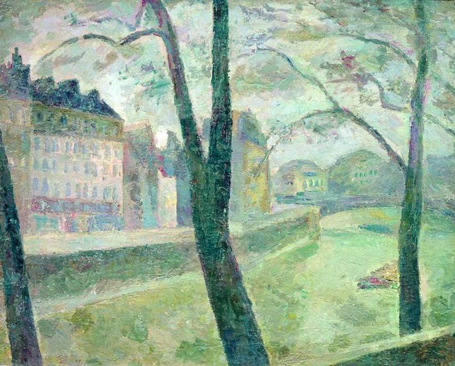 19-Париж - Сена - 1936.jpg