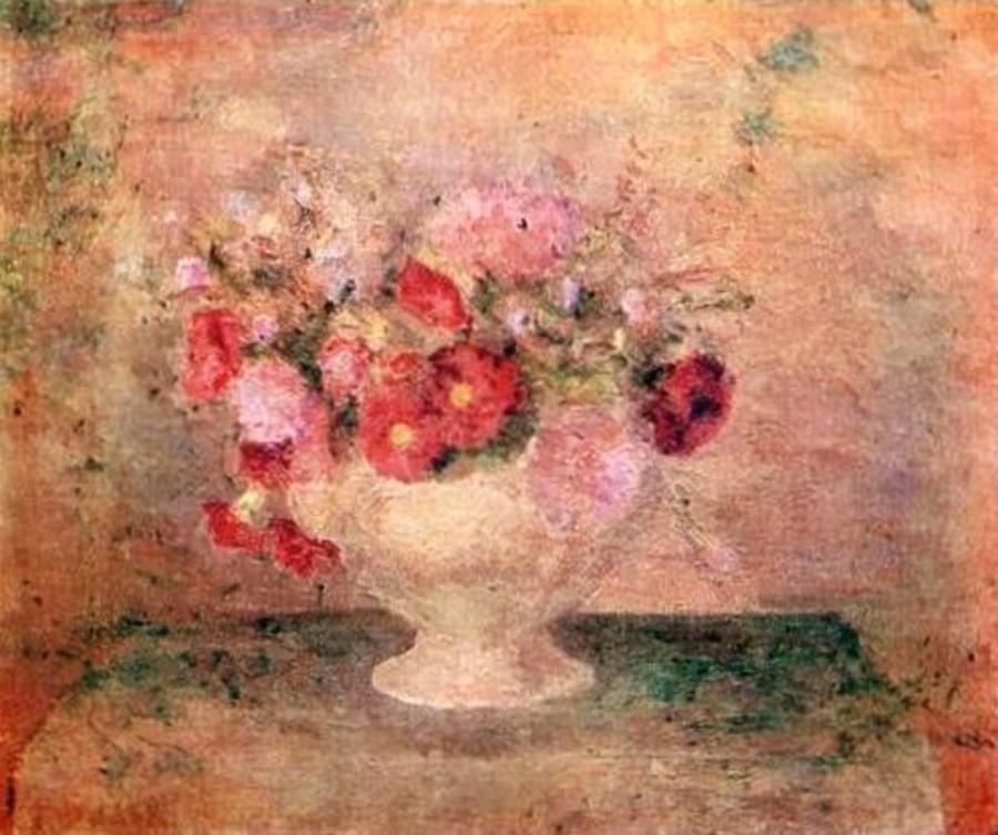 22-Натюрморт - Цветы в супнице - 1951.jpg
