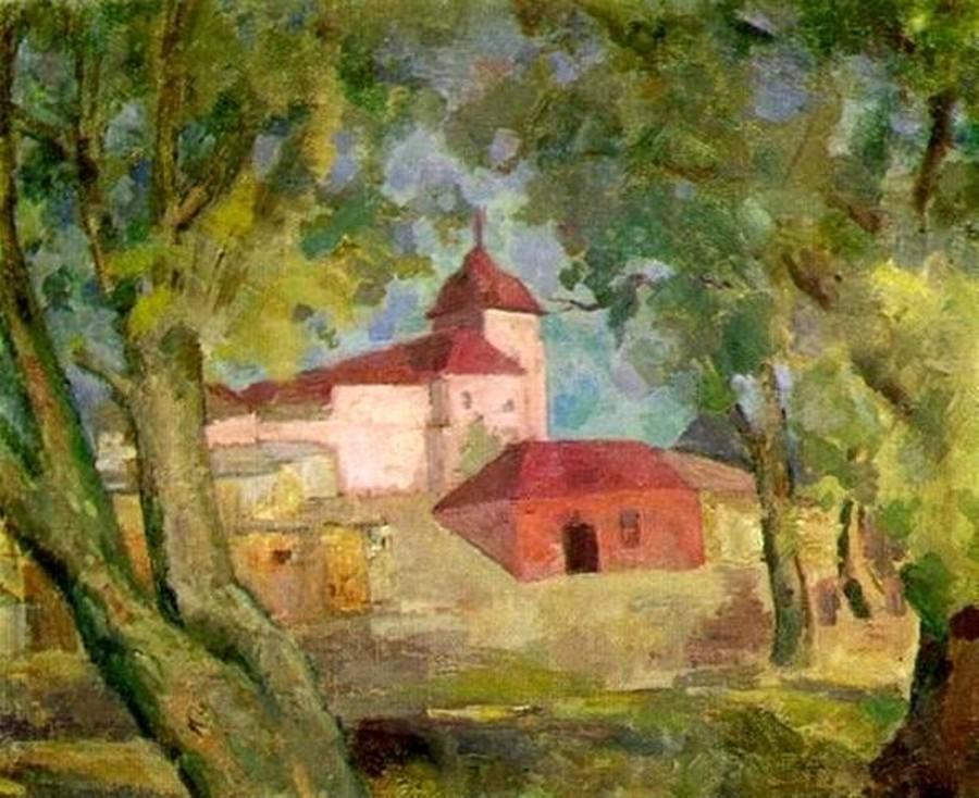 24-Хотьково - Монастырь - 1954.jpg