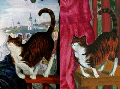 Борис Кустодиев - кошки.jpg
