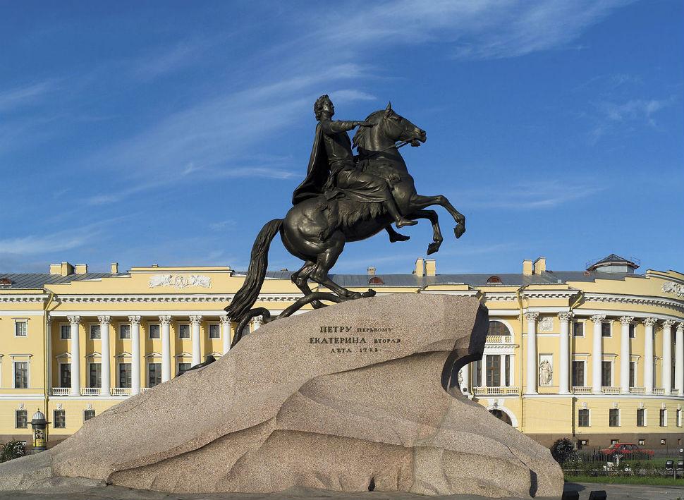 Этьен Фальконе - Памятник Петру I (1768-1770 годы).jpg