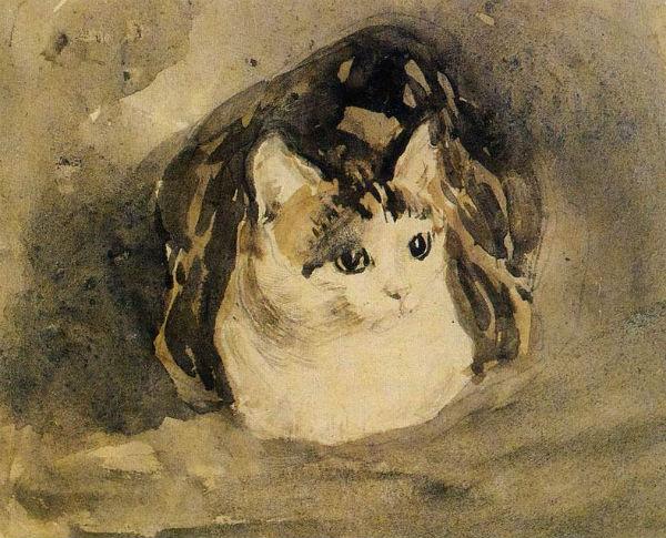 Пьер Боннар - Кот - галерея Тэйт - Лондон.jpg