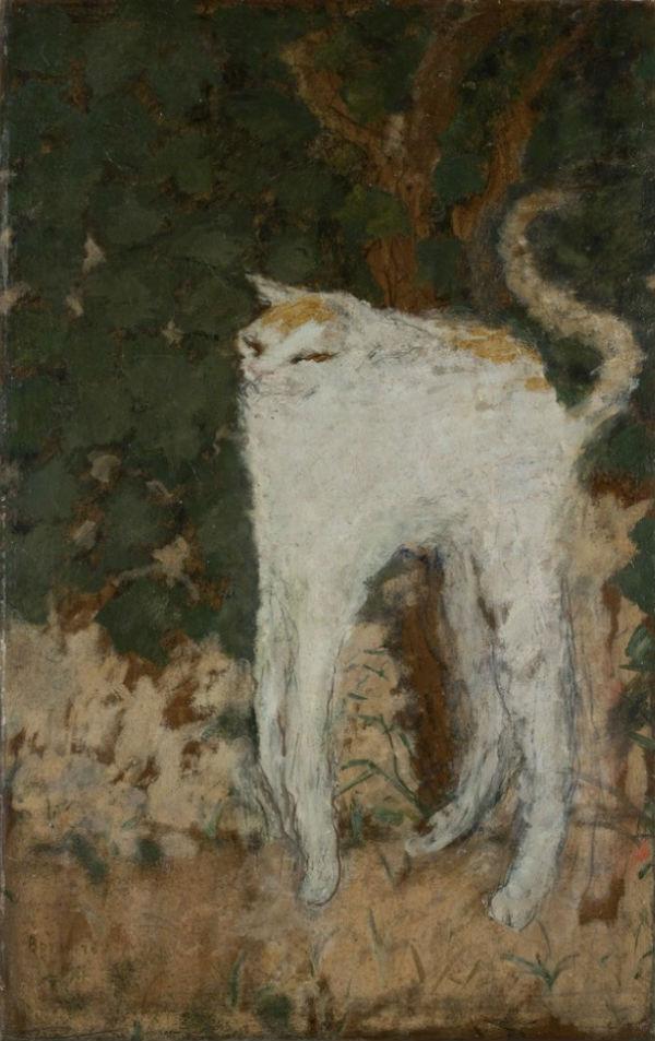 Пьер Боннар - Белый кот - 1894.jpg