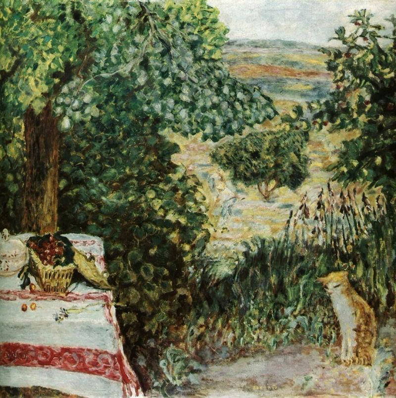 Пьер Боннар - Сон в саду.jpg