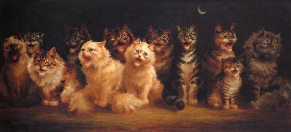 Луис Уэйн - Кошачий хор.jpg