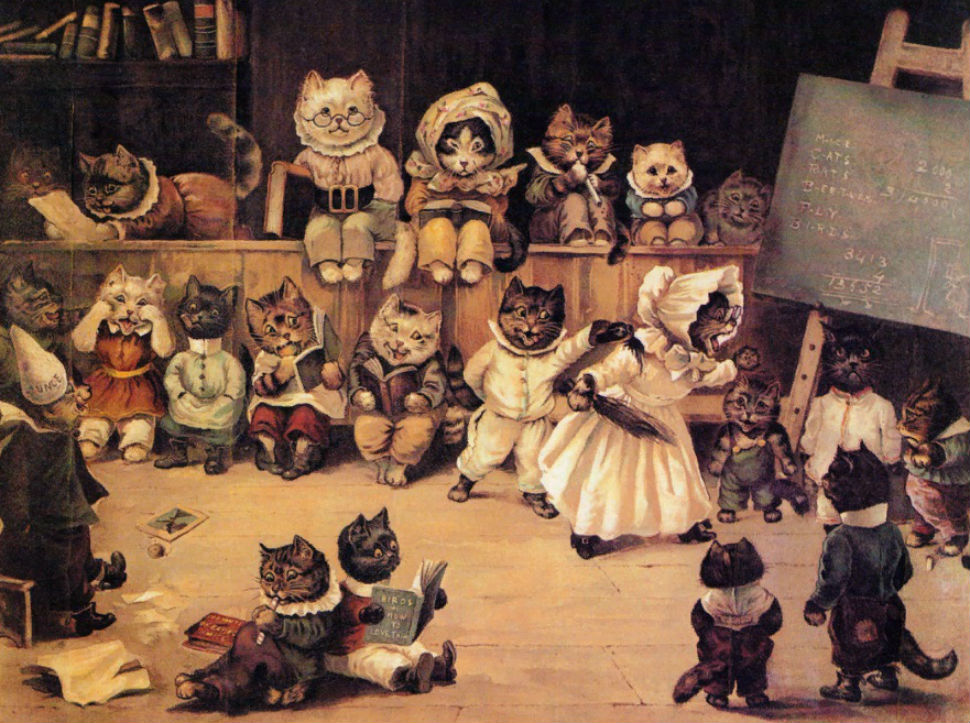 Луис Уэйн - Академия кошек.jpg