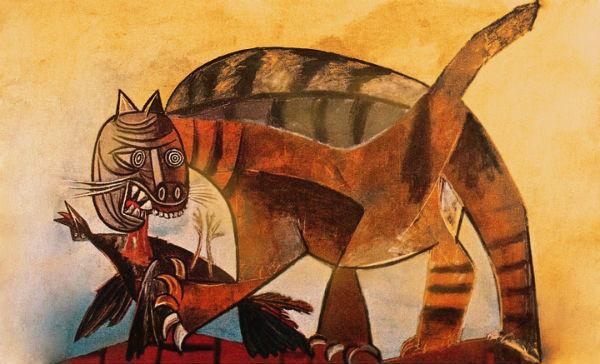 Пабло Пикассо - Кошка.jpg