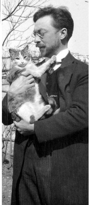 знаменитые художники любители кошек-2.jpg