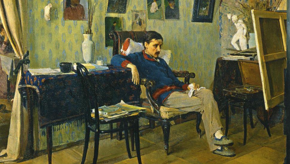 1-Алексей Корин - Больной художник - 1892 - (фрагмент) _ Государственная Третьяковская галерея.jpg