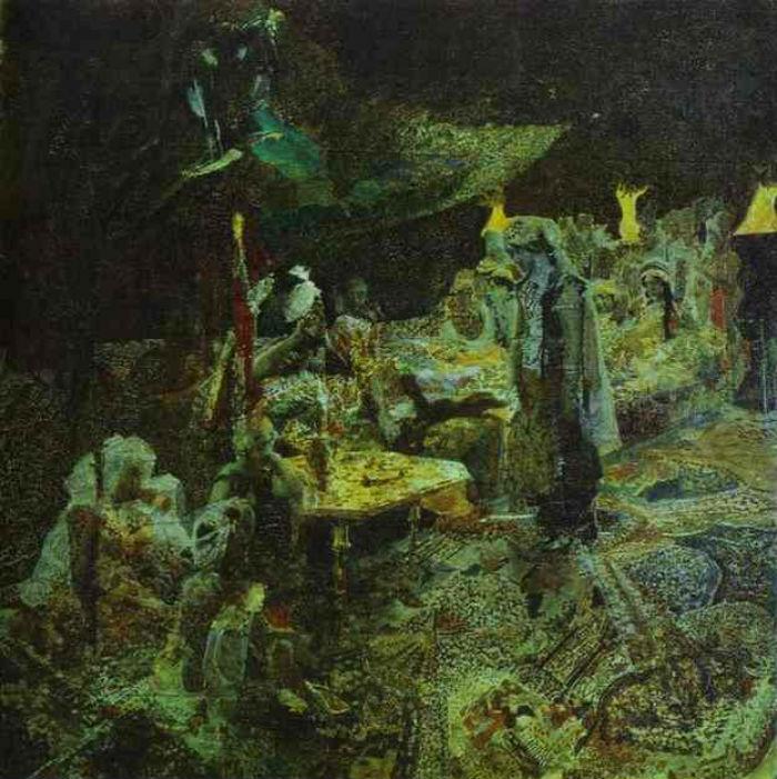 8-Михаил Врубель - Восточная сказка - 1886 - Киевский национальный музей русского искусства.jpg