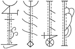 четыре знака защитят от колдовства со всех четырёх сторон свет