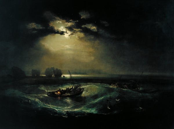 Tate Britain - 2 Fishermen At Sea 1801Details Joesph Mallord William Turner