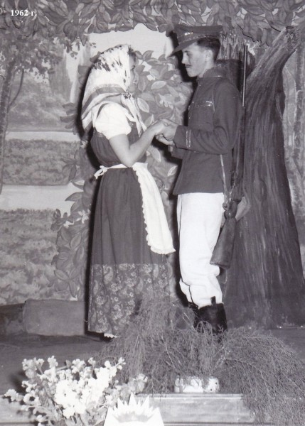 School Play Aug 1962 Baryshnia Krestyianka 1