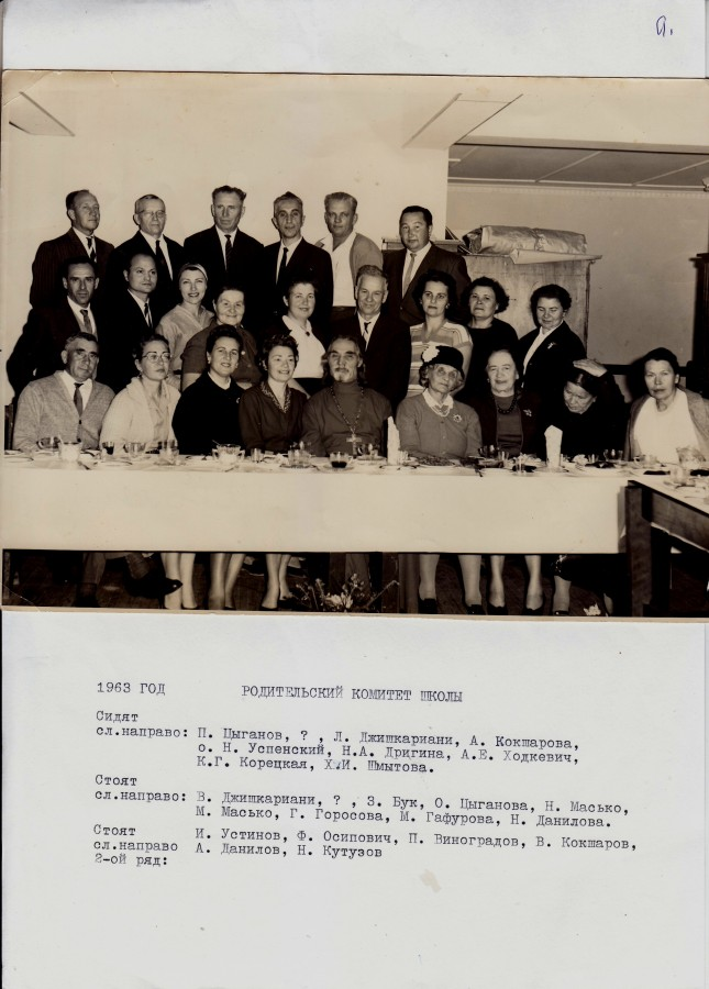 School Committee - Early Days
