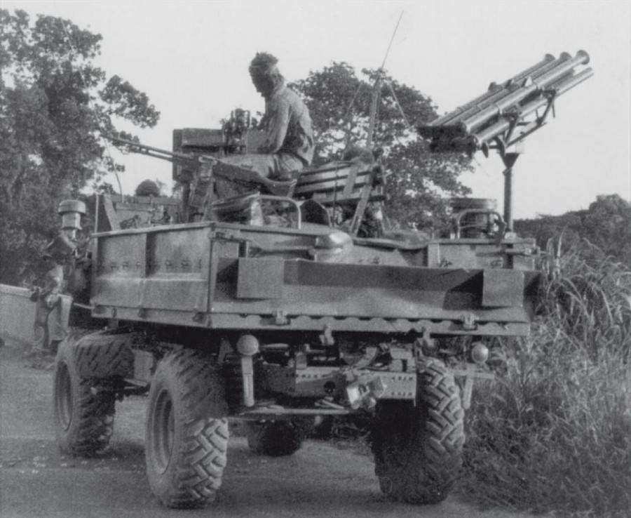 Rhodesian Unimog with SNEB 37mm rocket launcher.jpg