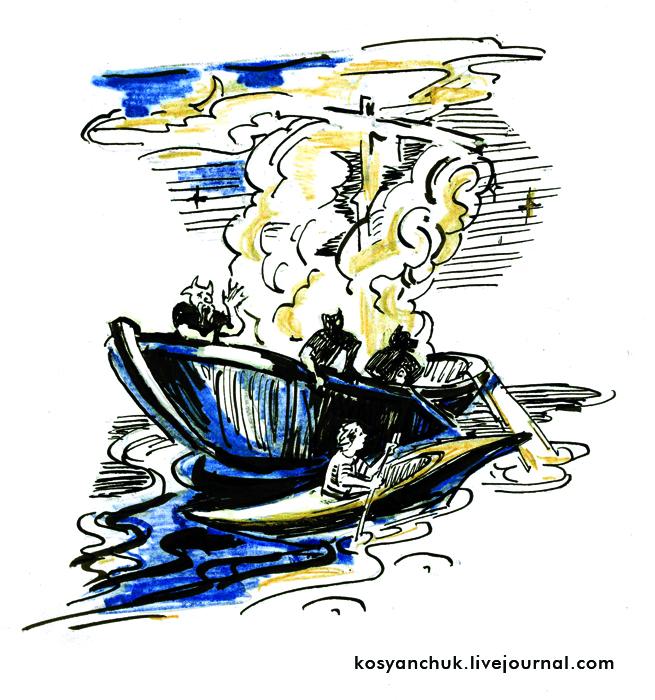 коваль лодка