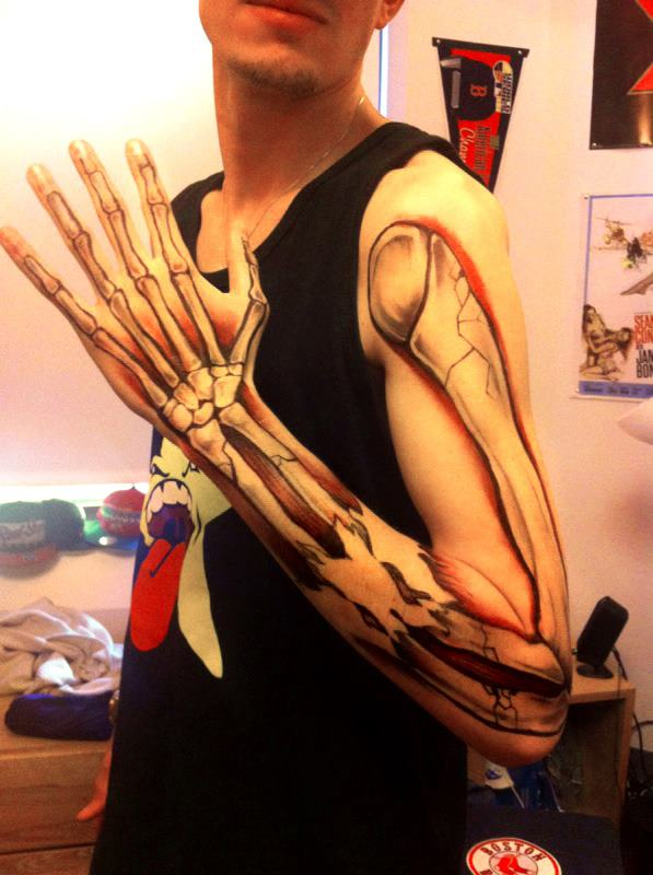 Sharpie-Arm