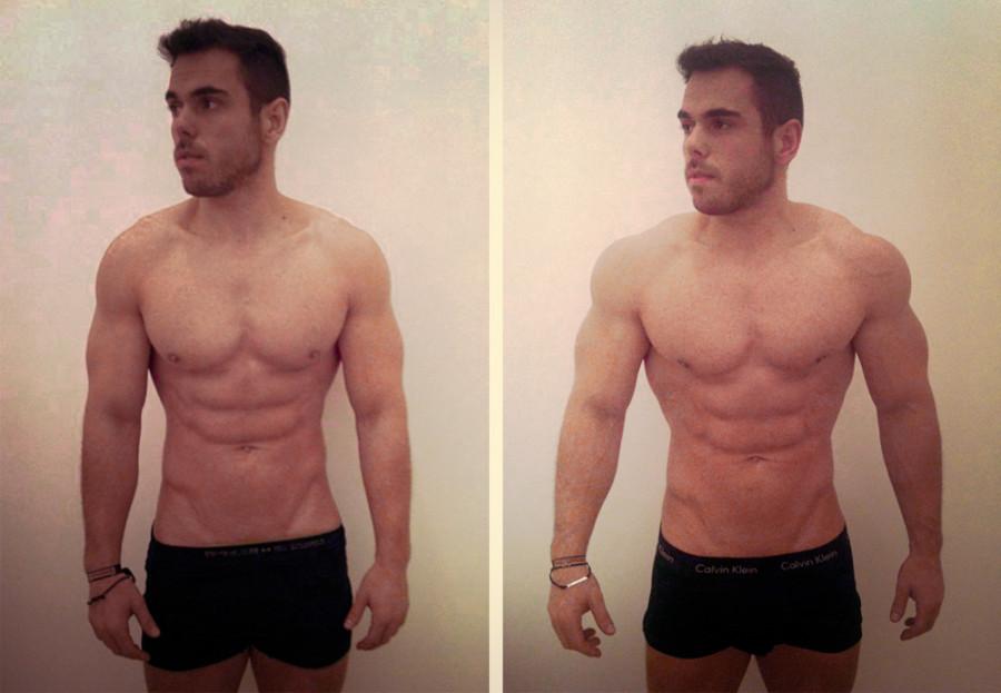 как парню похудеть в животе
