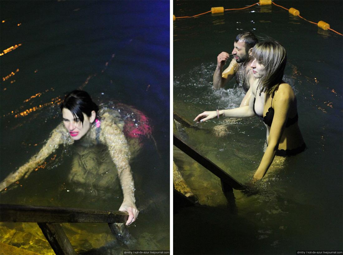 Сумасшедшие русские! Лучшие фото с крещенских купаний 2019 праздник,КМВ