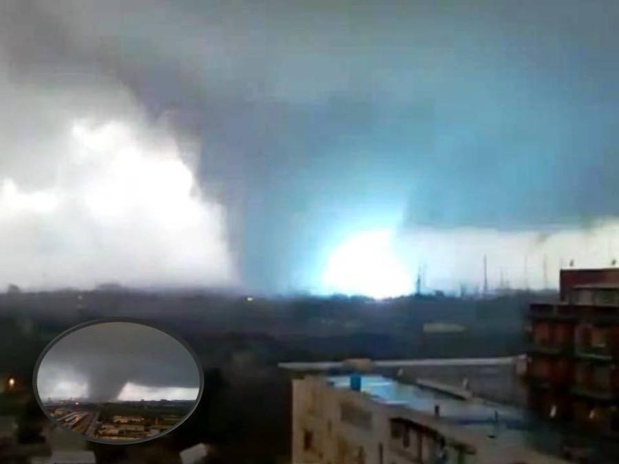 Tornado Taranto Italy nov 2012