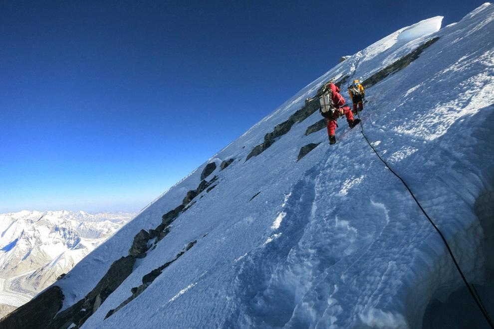 На эверест в регионе кхумбу в