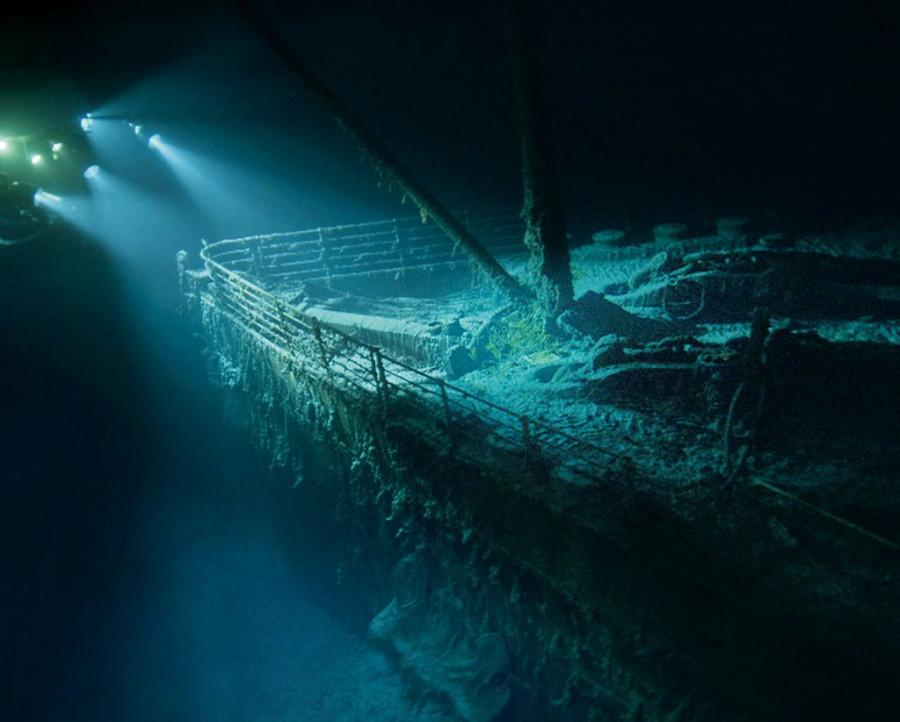 Титаник на карте гугл