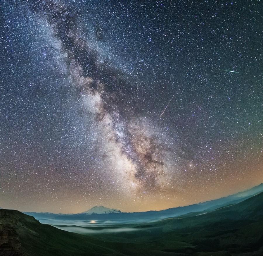 Как фотографировать звёзды и метеоры