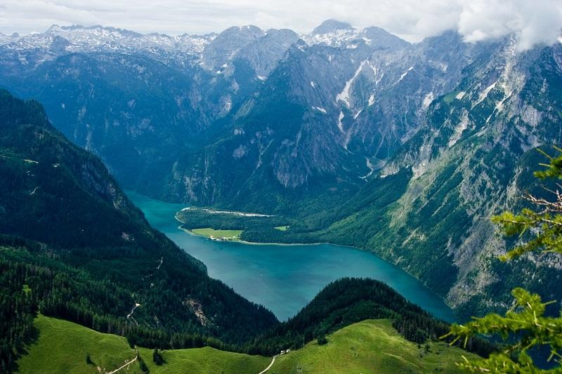 2-Кёнигзее - самое чистое озеро Германии