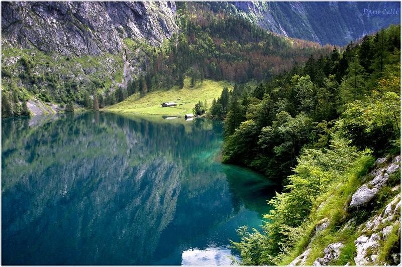 3-красивое озеро Оберзее в Германии