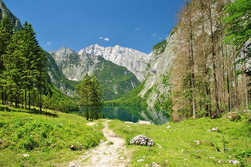 4-гора Ватцманн в Германии и озеро Оберзее