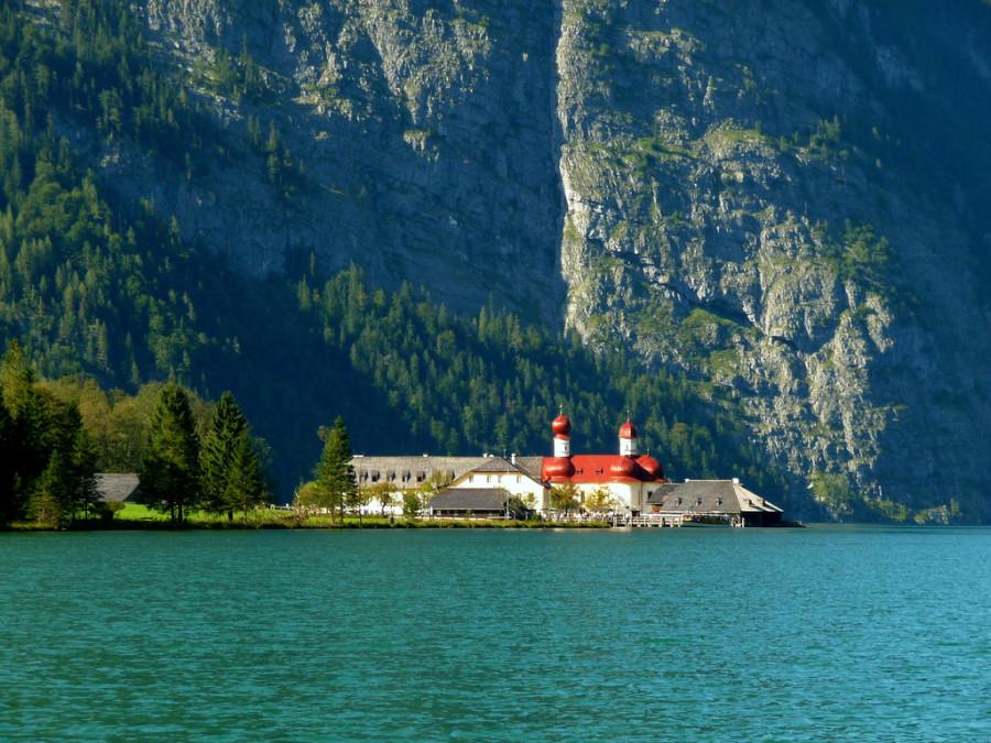 6-Кёнигзее - самое чистое озеро Германии
