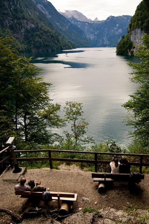 7-Кёнигзее - самое чистое озеро Германии