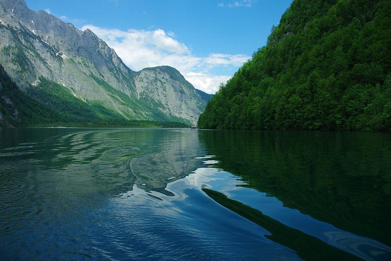 18-Кёнигзее - самое чистое озеро Германии