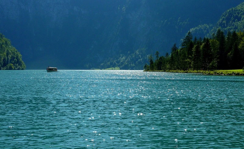 19-Кёнигзее - самое чистое озеро Германии