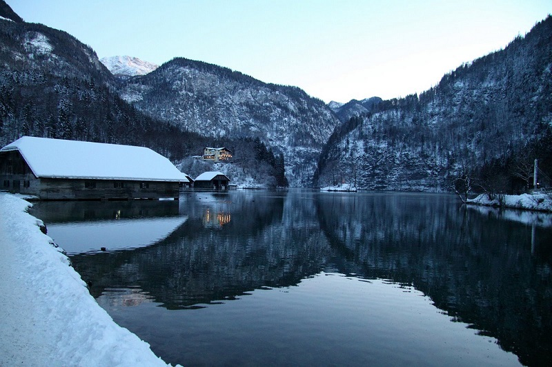 26-Кёнигзее - самое чистое озеро Германии