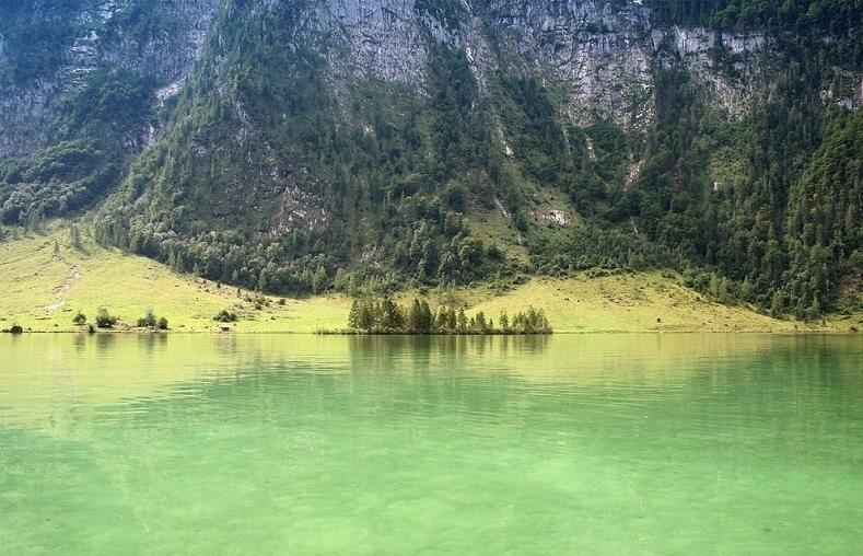 28-Кёнигзее - самое чистое озеро Германии