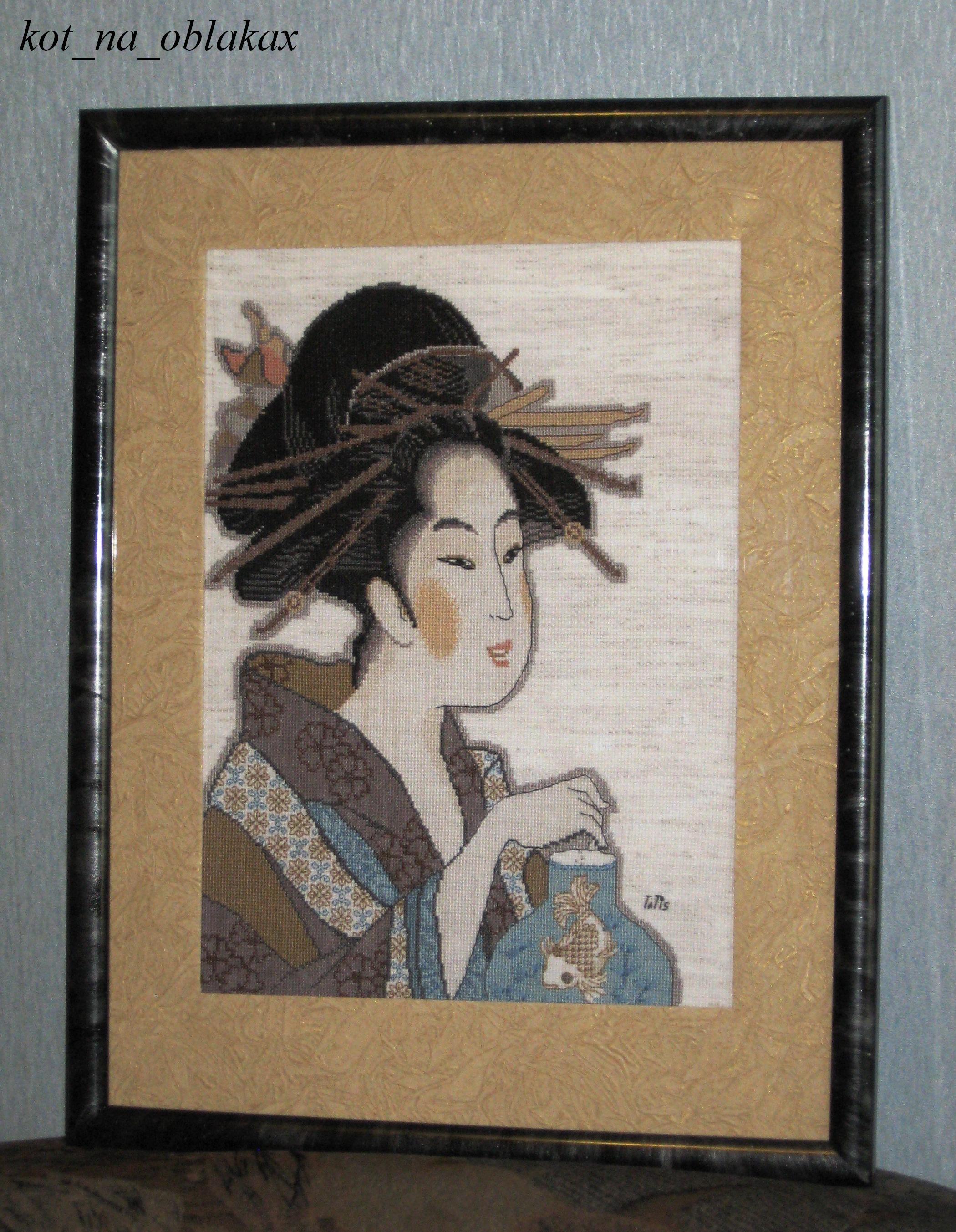схема для вышивания климт 3 возраста женщины