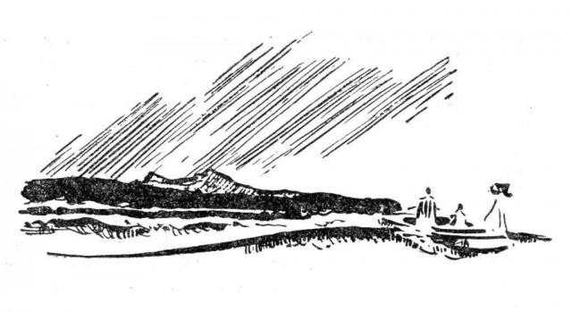 Иллюстрация к первому книжному изданию Туманности Андромеды