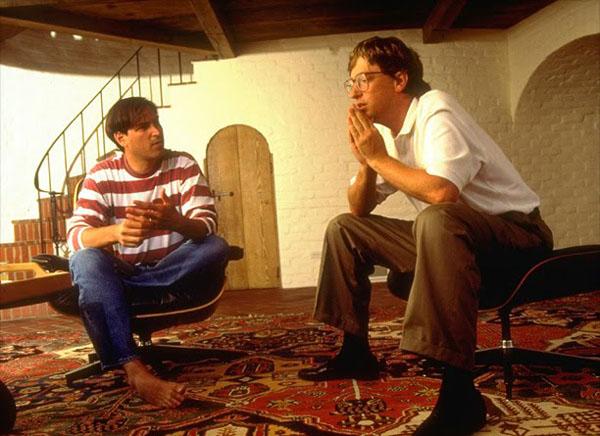 Джобс и Гейтс