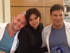 С Максом и Юлей