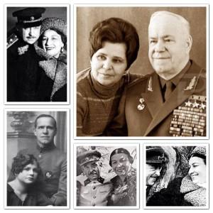 Жуков и Русланова