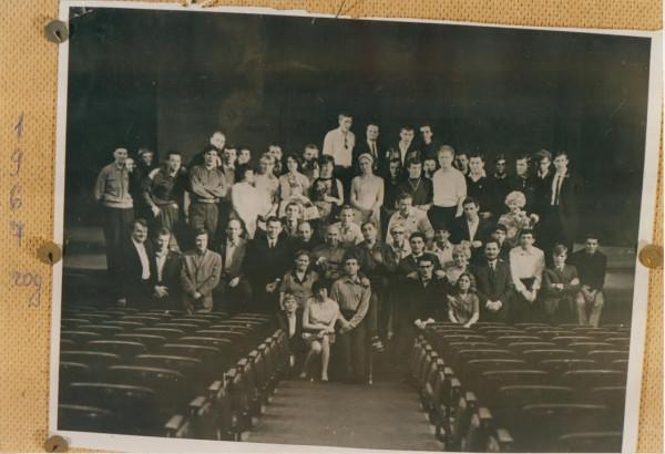 Театр на Таганке 1967 год