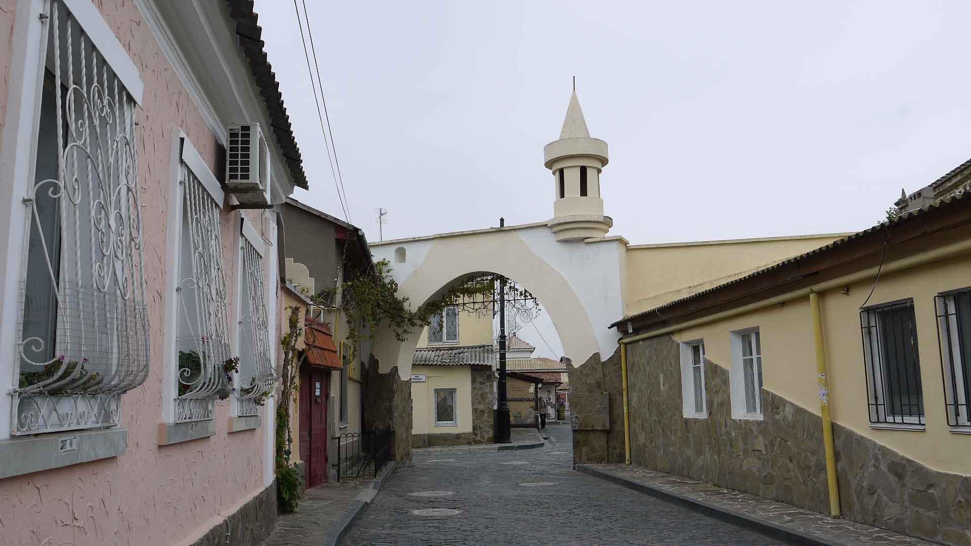старый город евпатория фото