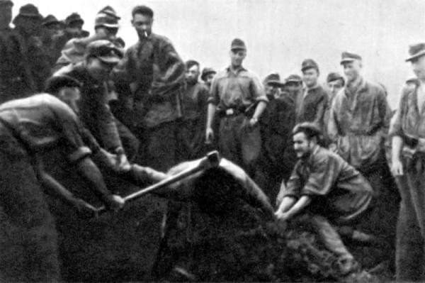 Казнь словенского партизана солдатами Ваффен-СС - 1.jpeg