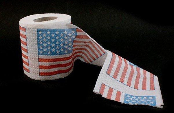 Туалетная бумага - Флаг США