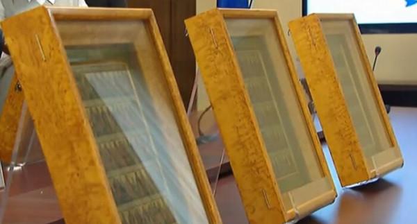 Старинные иконы, похищенные в годы Великой Отечественной войны, вернулись домой
